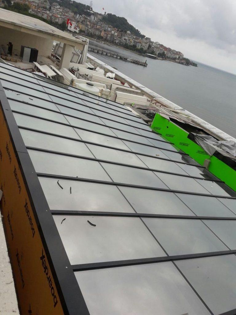 Erbir Yapı Ltd Retractable Glass Roof Retractable