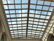 açılır cam tavan